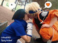 First kiss by UchimakiPro #sasukeuchiha #narutouzumaki #cosplay #uchimakipro