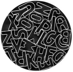 Mini Alphabet Cookie Cutters $19.99 - from Well.ca
