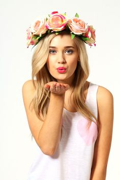 Fearne Floral Headband #boho #festival