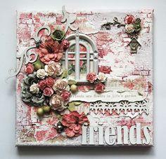 friends canvas - Scrapbook.com