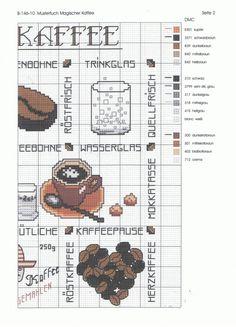 (1) Gallery.ru / Фото #2 - B-146-10 Mustertuch Magischer Kaffee - Ulrike