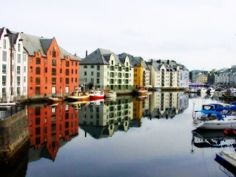 Alesund, Norway by dolly
