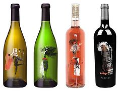 Art on wine. (No source link, sorry) PD