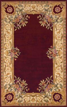 Momeni Harmony HA07 Burgundy Rug - 8' x 11'-   (875.)