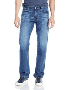 AG Adriano Goldschmied Men's The Protege Straight Leg Blue Jeans 36x34 NWT $198 #AGAdrianoGoldschmied #ClassicStraightLeg
