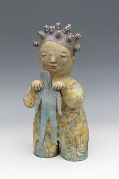 ceramic sculpture by sara swink