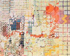 "Sallie Whistler Marcucci, ""Summer Evening"" Acrylic on canvas, 53? x 42?"