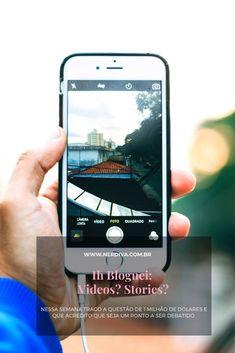 """No """"Ih Bloguei"""" dessa semana trago a questão de 1 milhão de dólares e que acredito que seja um ponto a ser debatido: Videos se fazem necessários? Blackberry, Videos, Iphone, 1 Million Dollars, Pictures, Blackberries, Rich Brunette"""