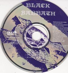 Black Sabbath / Gates Of Hell / Headless Cross / 1989 IRS Metal Promo CD Single #BlackSabbath #Music