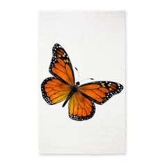Monarch Butterfly 3'X5' Area 3'X5' Area Rug