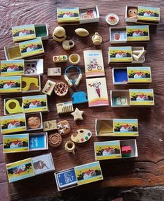 sorpresine-mulino-bianco Japanese Toys, Old Toys, Vintage Toys, Childhood Memories, Nostalgia, Barbie, Retro, Old Things, Children