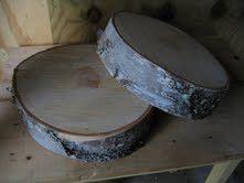 Birch Tree Cake Stand $26 Whispering Pines Catalog