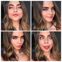 The many faces of Cara