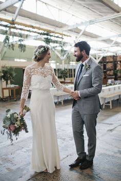 Industrial wedding at Laurens Hall North Melbourne