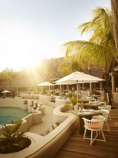 Welcome to the M.I.X.E #restaurant at LUX* Belle Mare, #Mauritius. www.luxresorts.com