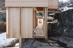 ELDMØLLA Sauna,Courtesy of Workshop NTNU-Trondheim