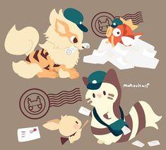 Poke post by Mahoukarp Pokemon Comics, Pokemon Memes, Pokemon Fan Art, My Pokemon, Pikachu, Cute Animal Drawings, Kawaii Drawings, Anime Animals, Cute Animals