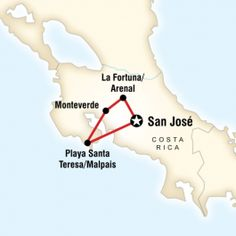 Costa Rica - Surf - Volcanoes - Mountain Biking - Gap Year