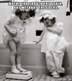 Without the socks  Those darn socks...