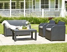 Széles választékot talál a JYSK. Living Area, Living Spaces, Furniture Catalog, Outdoor Furniture Sets, Outdoor Decor, New Theme, Skagen, Sun Lounger, Color Mixing
