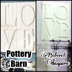 Pottery Barn, knock off, room decor, wall art, wall plaque, teen room, art, furniture, homedecor