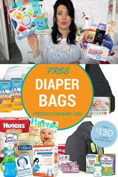 8b4f56ab5 5 FREE Diaper Bags filled with FREE Baby Stuff!