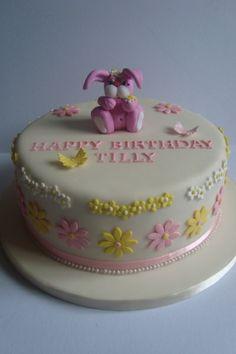picture of bunny birthday cakes | Rabbit Birthday Cake
