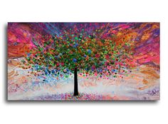 Abstract tree art by Julia Sadeh. Abstract Tree Painting, Watercolor Artwork, Acrylic Painting Canvas, Canvas Art, Canvas Painting Tutorials, Diy Painting, Ballerina Painting, Art Drawings For Kids, Tree Art