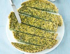 Spinat-Tarte ohne Boden - Rezept  - ichkoche.at