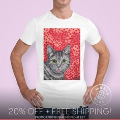 ..check out this painting of the original Mollycat on a t-shirt @ CURIOOS. There's 20% off right now + free shipping on this and all apparel and prints with the code SHOP20: https://www.curioos.com/alanhogan/promo   __________________________    #curioos #mollycatfinland #cats #art #artist #dots #artcollection #artlife #worldofartists #supportart  #cute #cats #猫 #katzen #tshirts #coolcat #designs #catstuff #catoftheday #cat #catseyes #catlover #cat