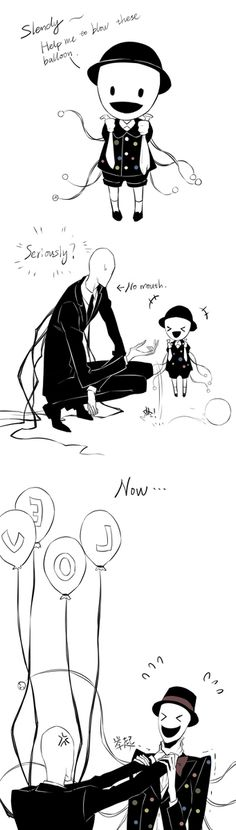 Slenderman and Splendorman - comic