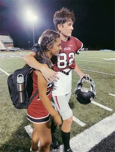Perfect Football Player And Cheerleader Couple Pictures You Dream To Have; Football Player And Cheerleader Couple; Football Player And Cheerleader; Player And Cheerleader; Cheer Couples, Football Couples, Sports Couples, Teenage Couples, Football Boyfriend, Football Cheerleader Couple, Football Players, Military Couples, Football Boys