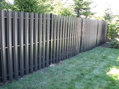 Beautiful aluminum privacy fencing that is maintenance free. No painting or staining.