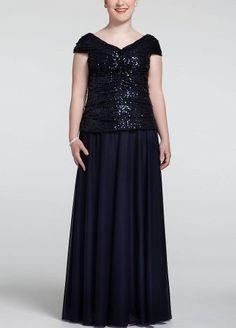 Sequin Cap Sleeve Long Sheer Matte Jersey Dress Navy David's Bridal,http://www.amazon.com/dp/B00CS2B642/ref=cm_sw_r_pi_dp_vMg3sb10Z4V5VDXH