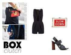 """""""#57"""" by clairecnlp ❤ liked on Polyvore featuring Anya Hindmarch, Proenza Schouler, Finders Keepers and BOXCLUTCH"""