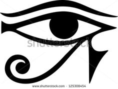 Sun Eye Of Horus - Reverse Moon Eye Of Thoth / Eye Of Horus ...