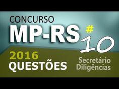 Concurso MP RS 2016 Secretário de Diligências - Questão de Informática -...