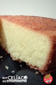 Gluten free cake with cornmeal- Learn how to make this delicious gluten-free cak. Gluten free cake with cornmeal- Learn how to make this delicious gluten-free cake with cornmeal. A recipe without TACC suitable for coeliacs. Gluten Free Cakes, Gluten Free Desserts, Vegan Gluten Free, Gluten Free Recipes, Bread Recipes, Low Carb Recipes, Gluten Free Breakfasts, Fodmap, Sweet Recipes
