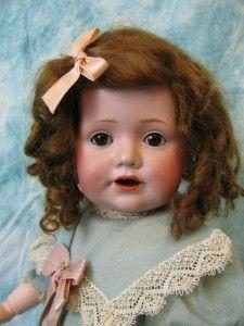 """15"""" Antique Grown up Hilda KESTNER c1890 JDK #247 Character TODDLER"""