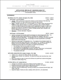 Business Analyst Resume Example (resumecompanion.com) | Resume ...