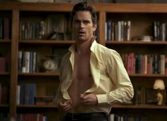 Pin for Later: 30 Reasons Matt Bomer Is So Sexy It Hurts The Ease at Which He Takes Off His Shirt Wait, what was I saying?