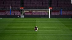 The long goodbye Barefooted Andrs Iniesta sits alone in empty stadium until 1am