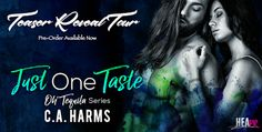 Girl with a Pen and a Dream: Teaser Reveal | Just One Taste by C. A. Harms