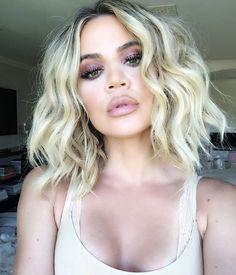 Wavy Bob - khloe kardashian