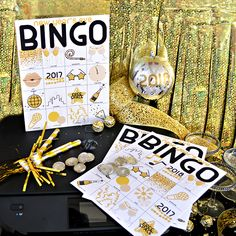 DIY New Years Eve Bingo Cards - Free Printables Free Printable Bingo Cards, Free Printables, New Year's Eve Crafts, New Year's Eve 2019, Boxing Quotes, Daily Inspiration Quotes, New Years Eve, Happy New Year, Party Planning