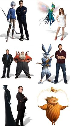 Rise of the guardians - amazing cast -amazing movie