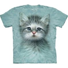 Kitten Shirt ($19) ❤ liked on Polyvore