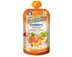 GRADUATES® Grabbers™ Fruit & Yogurt – Peaches & Cream