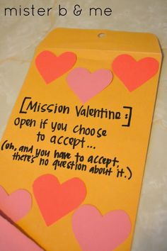 DIY: Valentines Scavenger Hunt. My husband loved this and I had a blast making it! Super easy/inexpensive!