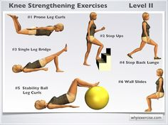 Knee strengthening exercises: Illustrated with 7 videos, challenging moves!